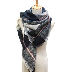 Beautiful plaid scarf wrap
